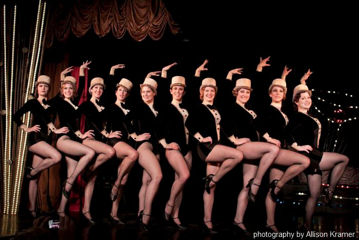 The Charleens - Vintage Dance Troupe (Photography by Allison Kramer )