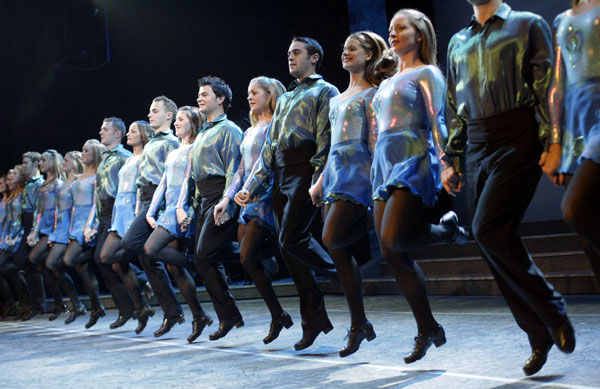 Riverdance (Image: http://broadwaymusicalhome.com/shows/riverdance.htm)