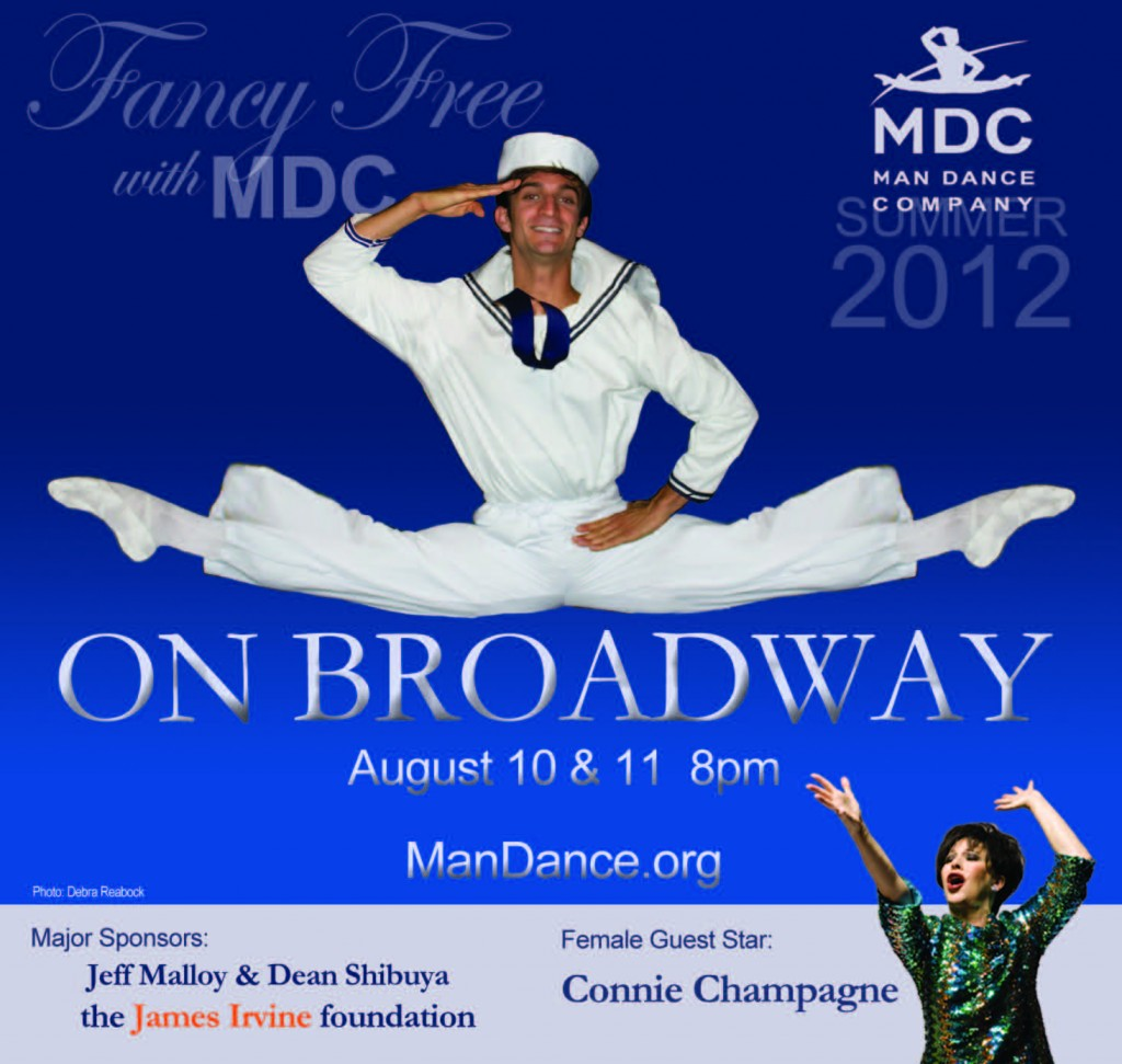"Man Dance Company of San Francisco Presents ""On Broadway"""