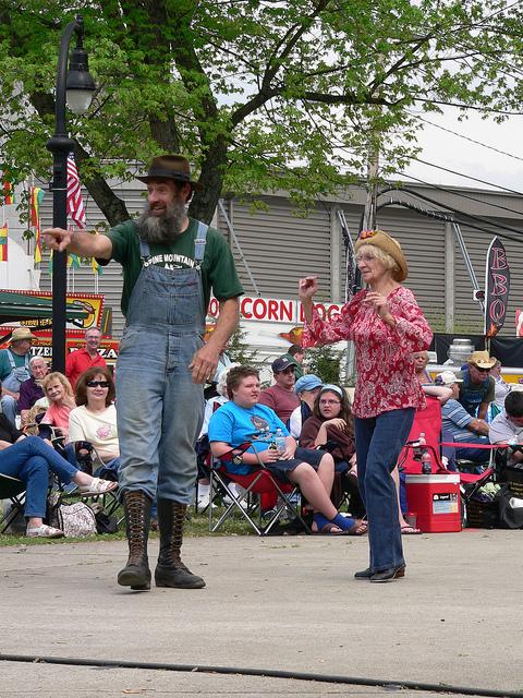 Hillbilly Days Dancing (Flickr image: MMlander photo stream)