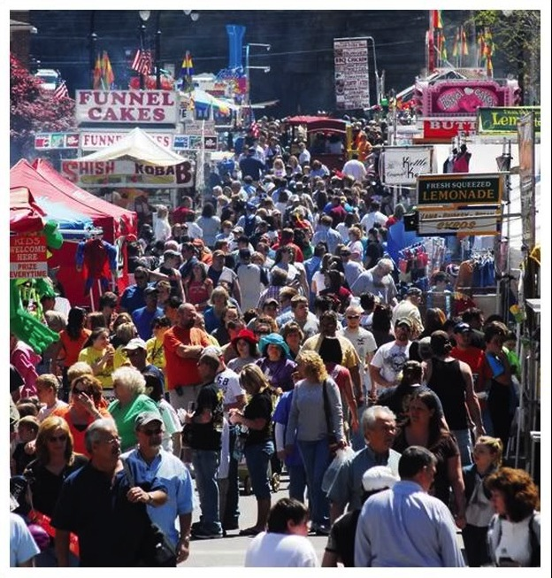 Hillbilly Days, Pikeville, KY (Source http://www.hillbillydays.com