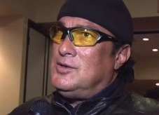 Could that have been Steven Seagal?!!
