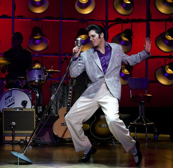 Cody Slaughter as Elvis (Image by Jeremy Daniel - from Million Dollar Quartet: source)