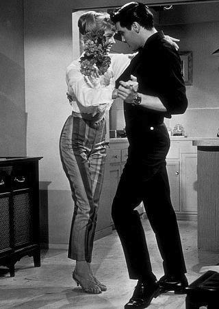 Elvis Presley with uncredited dance partner - 1961 (source)