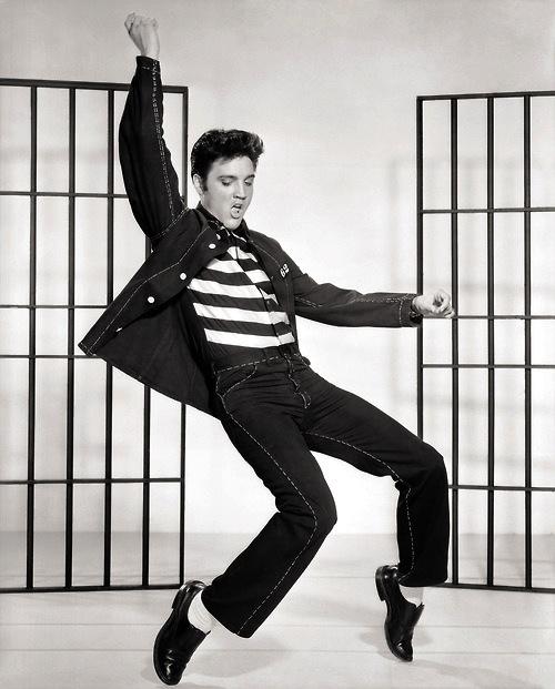 Elvis Presley in Jailhouse Rock, © 1957 - Warner Bros. All rights reserved