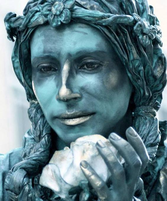 The Art of the Living Statue