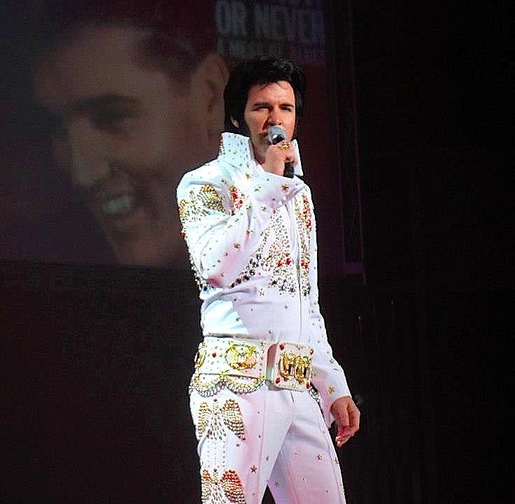 Travis Powell, Elvis Tribute Artist ( Image: Legends in Concert)