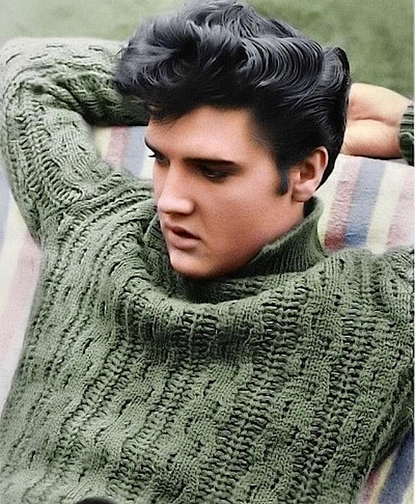Elvis Presley (Jailhouse Rock, 1957) Source: link