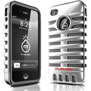 Elvis Microphone phone case
