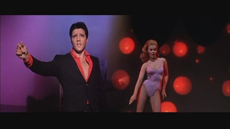 Elvis Presley and Ann-Margret, Screenshot from Viva Las Vegas, 1964