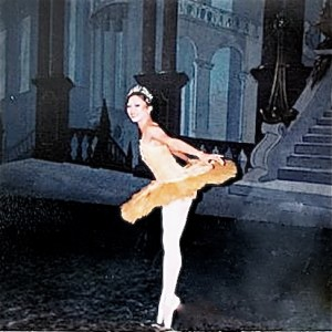 Roberta Wong as the 'Canary Fairy' in the Indianapolis Ballet Theatre's production of the Sleeping Beauty