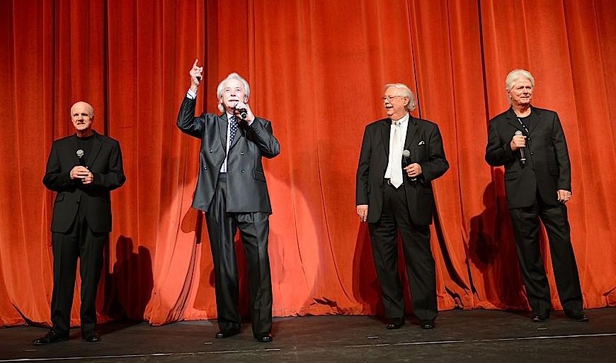 Former members of J.D. Sumner and the Stamps Quartet (Bill Baize, Donnie Sumner, Ed Hill & Larry Strickland)