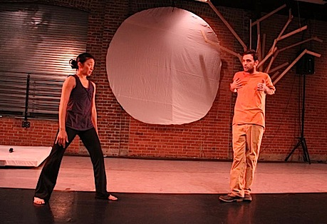 Indy Convergence 2012, Roberta Wong with choreographer, Joshua Morris