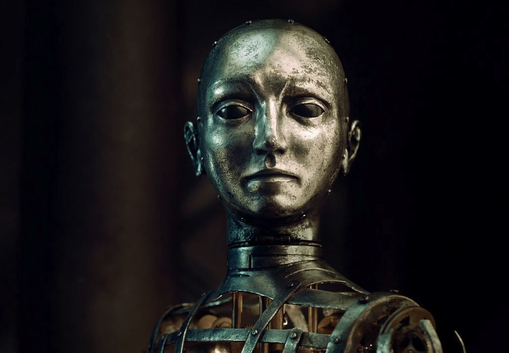 The Automaton from Hugo, created by Dick George, 2011, Paramount Pictures, Director, Martin Scorcese (source: http://i.imgur.com/iCazs.jpg)
