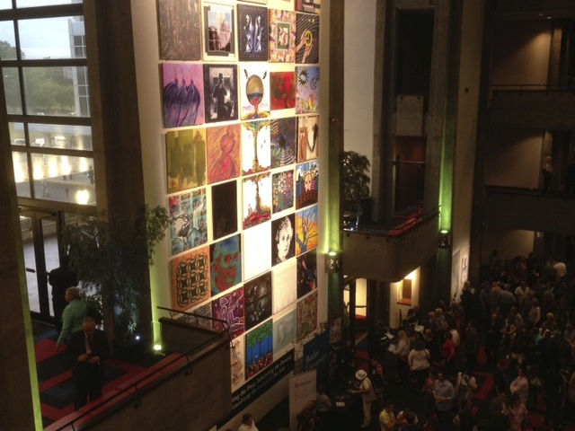 Clowes Memorial Hall 50th Anniversary Mosaic, Indianapolis, IN (Photo by Roberta Wong)
