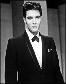 Elvis Presley in Tuxedo