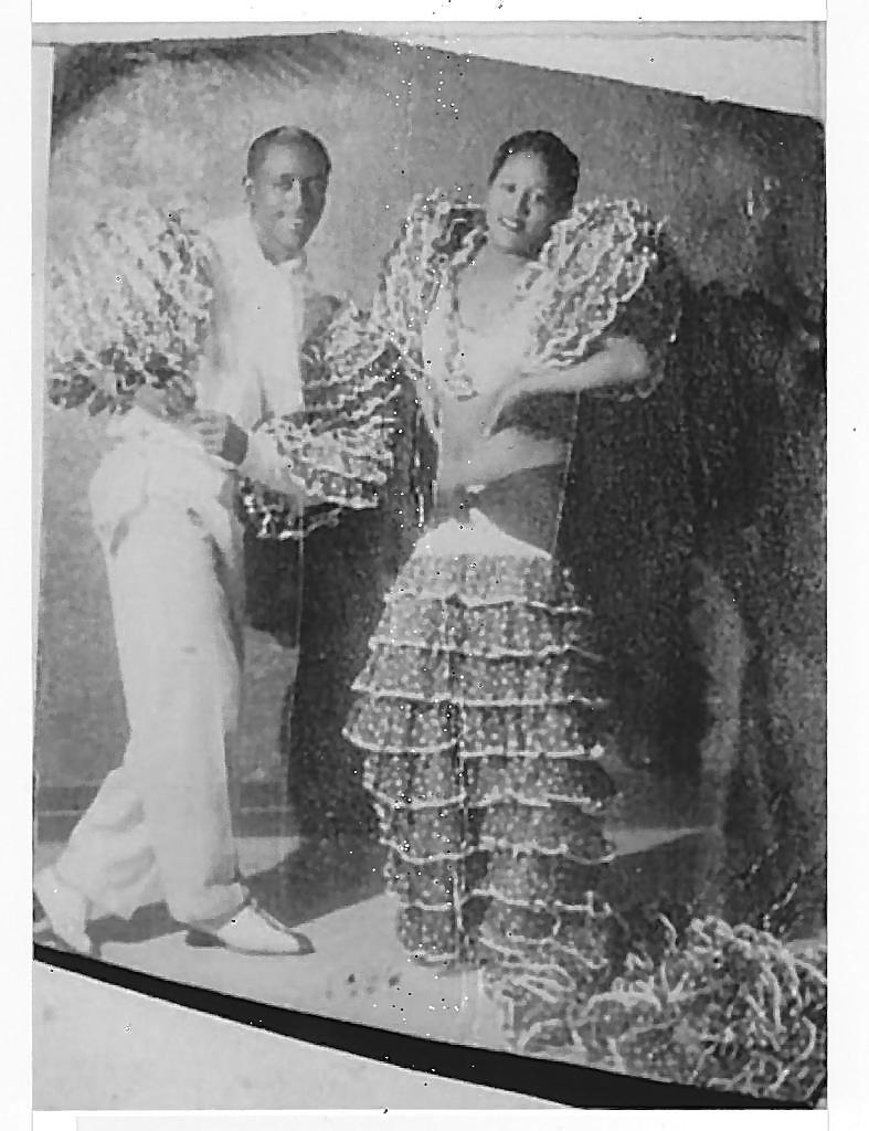 Rumba dancers Rene & Estela, 1933 (Photo: Museo Nacional de Havana, Cuba, courtesy of Robin D. Moore & the Lazaro Herrera Collection.)