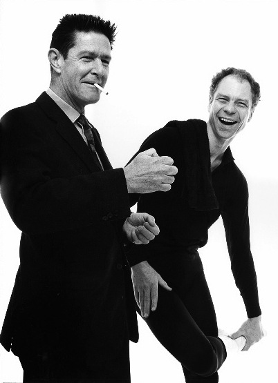 John Cage - Merce Cunningham - New York - 1960 © Richard Avedon