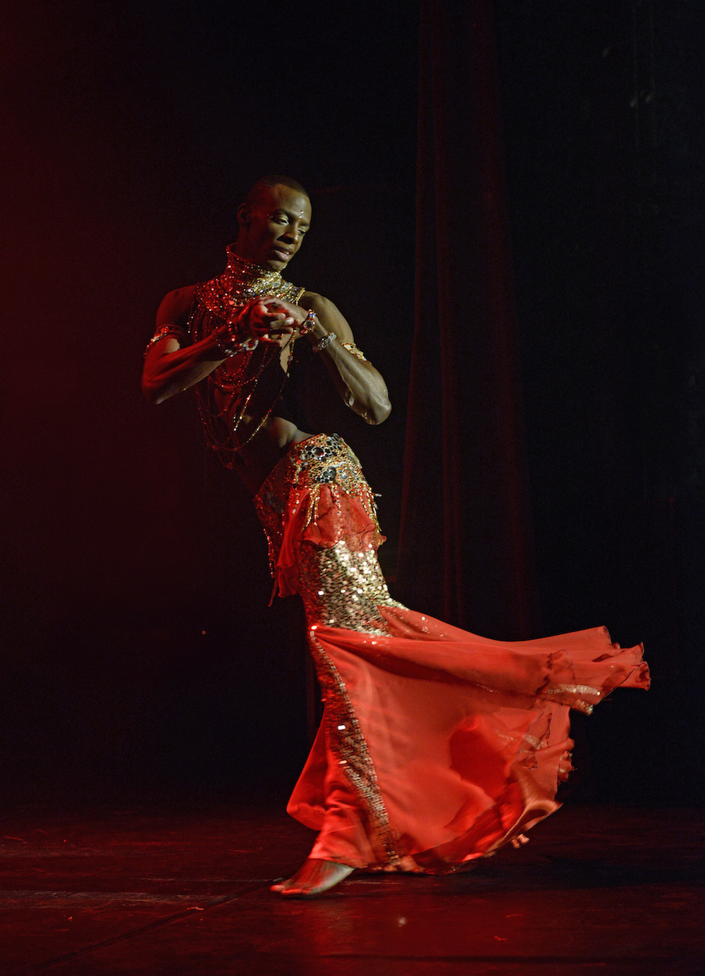 Featured Interview with Rachid Alexander: An International Phenomenon in Male Belly Dancing