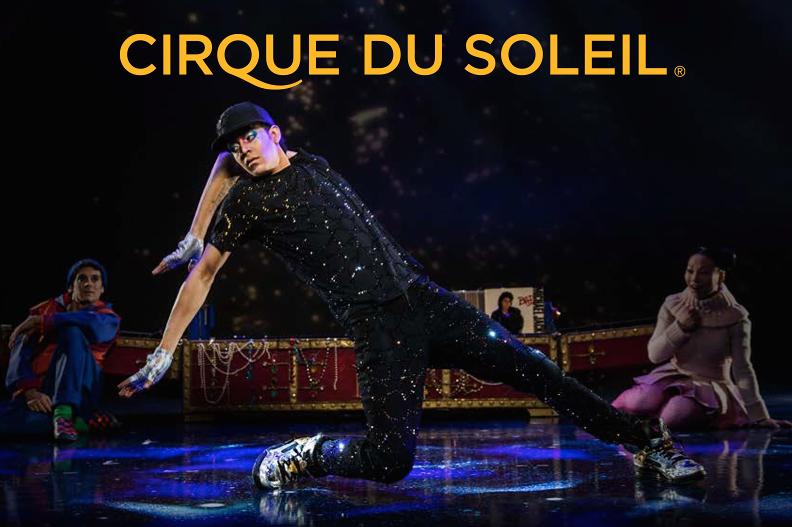 Cirque du Soleil poster featuring Ahlamalik Williams