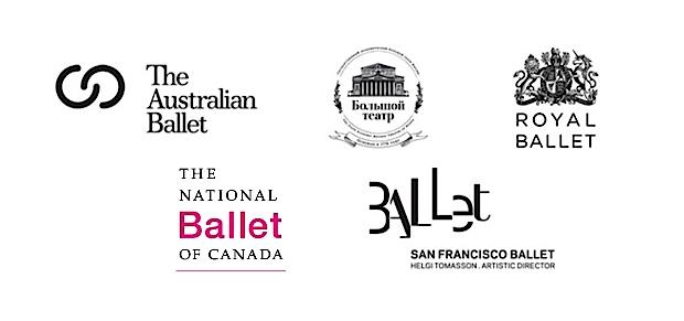 World Ballet Day logos