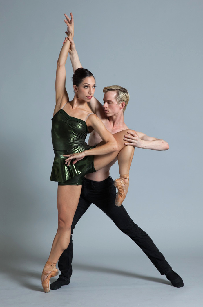 Diablo Ballet dancers Amanda Farris and Christian Squires (Photo Credit:  Berenger Zyla)