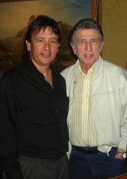 David and DJ Fontana at DJ's 2009 induction into the Rock N Roll Hall of Fame.